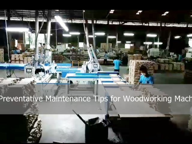 6 Preventative Maintenance Tips for Woodworking Machines
